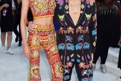 Jeremy Scott and Sara Maxwell at MTV VMAs 2016 slaying the red carpet