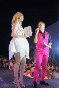 Presenter: Yiota Koufalidou & Fashion Pr - Marketeer Zacharias Petrou