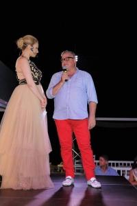 Presenter: Yiota Koufalidou & Fashion Designer: Gregory Englezos