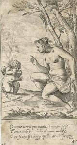 AGLG 748 FIALETTI Venus, Putto, Rebuke