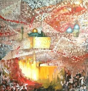 Jerusalem 140 cmx140 cm