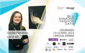 Vasso Merianou – Lokta Art at Blu Diamond Fashion Days!