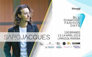 Saro Jacques Chaparian will present on the runway his Spring Summer 2019 collection at Blu Diamond Fashion Days!